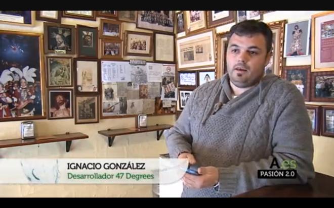 Ignacio_gs en Canal Sur TV